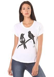 Ezekiel Love Birds Dolman - T-Shirt für Damen - Weiß