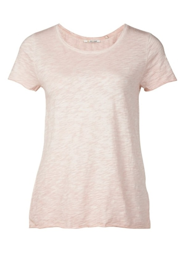 Rich & Royal Slub - T-Shirt für Damen - Pink