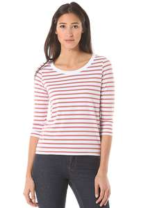 Rich & Royal Striped Jersey - Langarmshirt für Damen - Rot