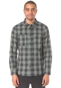 Cleptomanicx Checker Flanel - Hemd für Herren - Grün