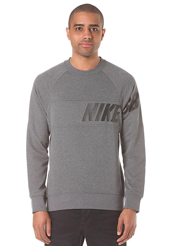 Nike SB LT WT Everett Dri Fit Crew Sweatshirt für Herren Grau