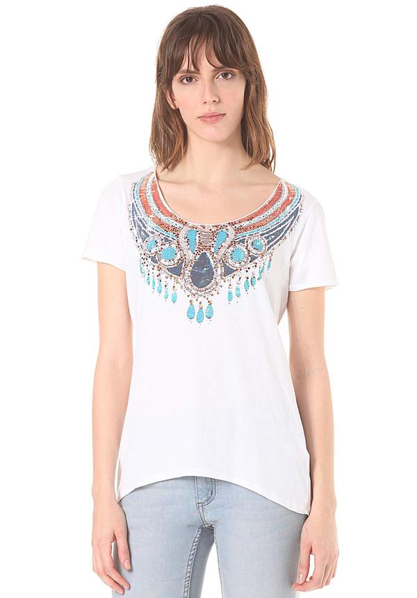 c0ba830443e3e0 Rich   Royal T-Shirt - T-Shirt für Damen - Weiß von Planet Sports ...