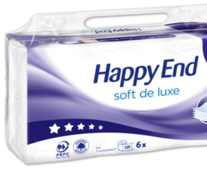 HAPPY END Toilettenpapier soft de luxe