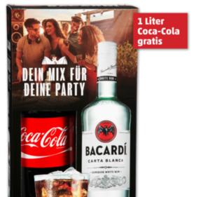 BACARDI Carta Blanca Weißer Rum