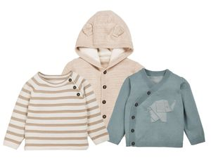 LUPILU® PURE COLLECTION Baby Jungen Strickjacke/-pullover