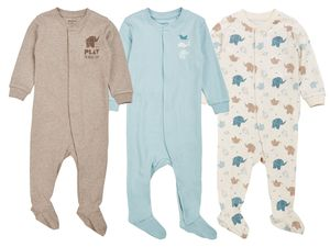 LUPILU® PURE COLLECTION Baby Jungen Schlafoverall