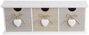 Schubladenbox - aus Holz - 10 x 9 x 14 cm