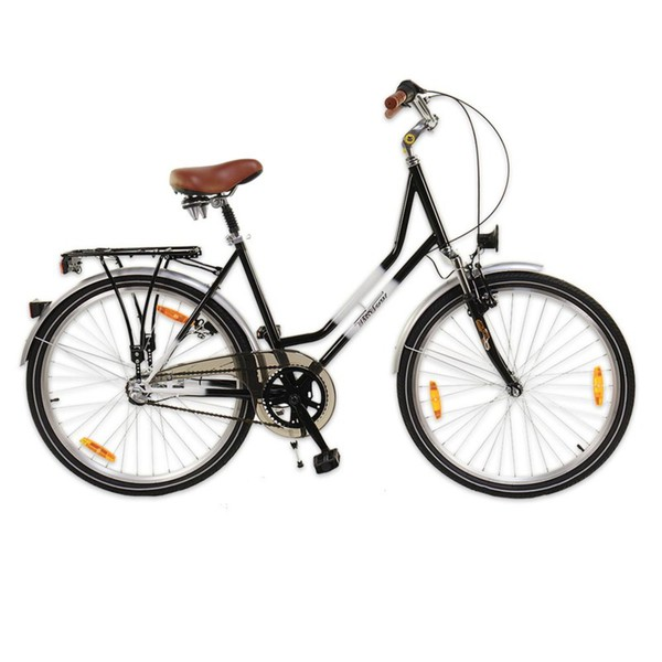 City-Bike »Tim Tour PRO-700C« 28 Zoll schwarz