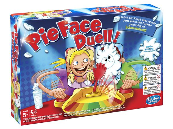 Hasbro Gaming Kinderspiel Pie Face Duell