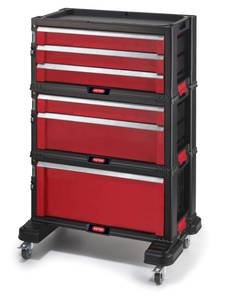 Werkstattwagen All Drawer mit 6 Schubladen Keter