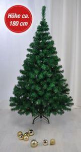 Haushalt International Weihnachtsbaum aus Kunststoff - Grün, 180 cm