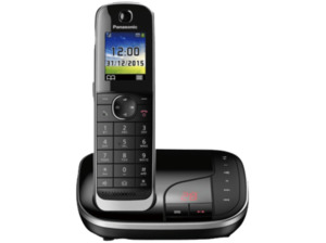 PANASONIC KX-TGJ 320 GB, Schnurloses Telefon, Schwarz
