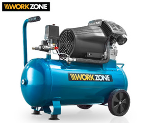 WORKZONE® Kompressor, 50 l