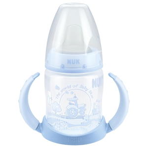 NUK - Trinklernflasche First Choice Baby Blue blau, 150 ml
