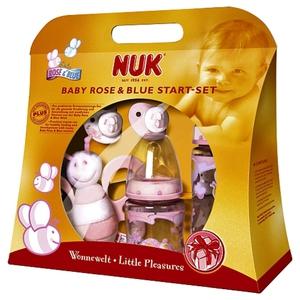 NUK - Starter Set First Choice Baby Rose