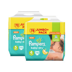 Pampers Baby-Dry Jumbo+ Pack