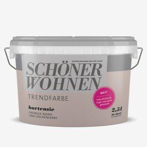 Trendfarben matt Hortensie 2,5l