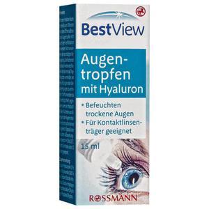 Best View Augentropfen mit Hyaluron 39.93 EUR/100 ml