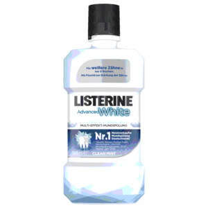 Listerine Multi-Effekt-Mundspülung Advanced White 500ml