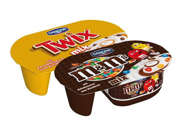 Danone M&M's/Twix/ Mars Mix