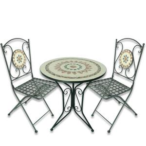 Mosaik-Sitzgruppe »Sun« 3-teilig