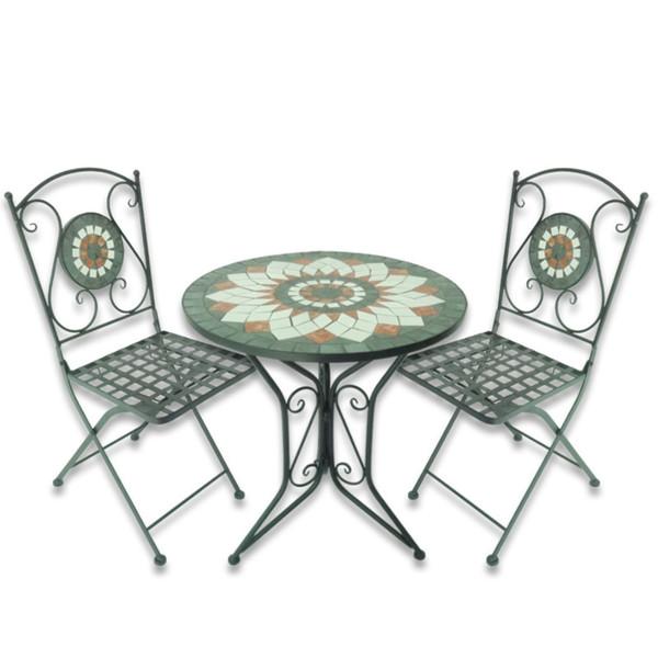 Mosaik Sitzgruppe »Flower« 3 teilig von Jawoll ansehen!