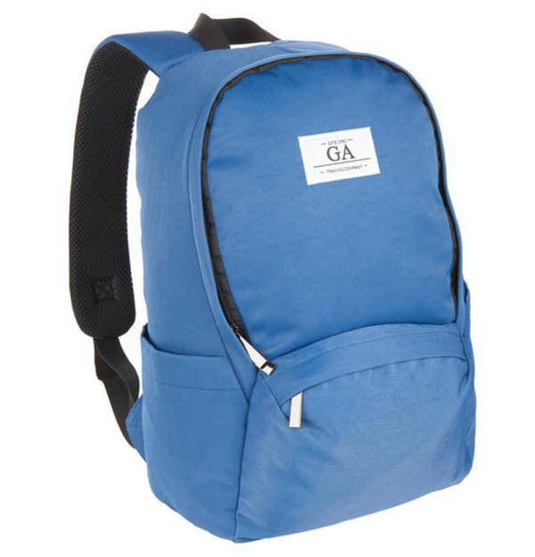 Global Agency             Rucksack, uni, Laptop-Fach, 10,8 l