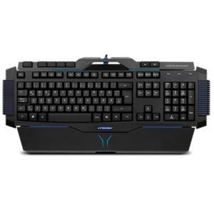MEDION ERAZER X81025 Gaming Tastatur, Präzise Tastenreaktion, Hintergrundbeleuchtung, (100%) Anti-Ghosting-Funktion