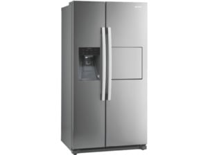 GORENJE NRS9182CXB Side-by-Side (329 kWh/Jahr, A++, 1771 mm hoch, Edelstahl)