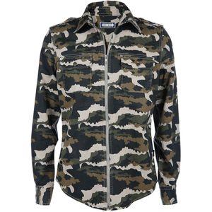 Herren Hemd in Camouflage Optik