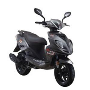 Explorer Speed 50 Motorroller 2018 grau, 45 km/h