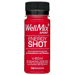 WellMix Sport Energy Shot 2.48 EUR/100 ml (12 x 60.00ml)