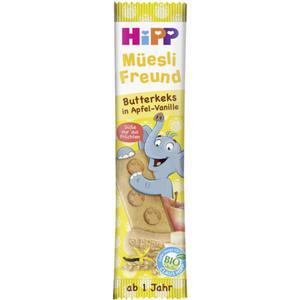 HiPP Bio Müesli Freund Butterkeks in Apfel-Vanille 2.75 EUR/100 g (30 x 20.00g)