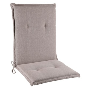 Sitzauflage Niedriglehner Polyester Schlamm