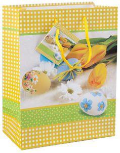 Geschenktüte - Tulpen - 26 x 32,5 x 12,5 cm