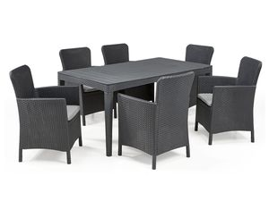 Allibert Dining Set Girona-Miami, 7-teilig
