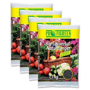 Bio-Universal-Naturdünger (4 x 7,5kg) - versandkostenfrei!