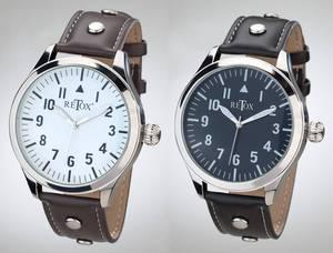 Herren Armbanduhr mit Quarzwerk, in verschiedenen Farben Retox