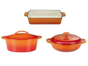 GSW Gusseisen-Set Orange Shadow
