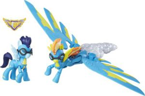 My little Pony Guardians of Harmony Wonderbolts Sonic Boom