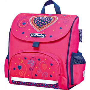 Herlitz Mini Softbag Pink Hearts