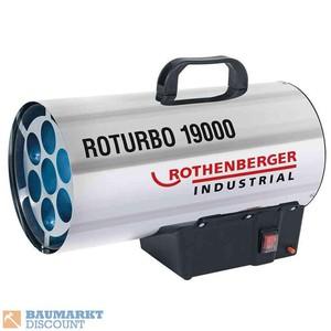 Rothenberger Gasheizgebläse ROTURBO 19000 Leistung 18,5 KW