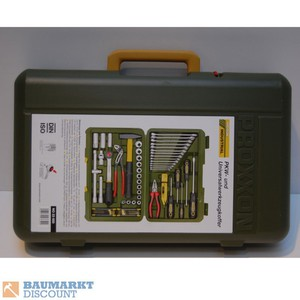Proxxon PKW- und Universalwerkzeug- Koffer NO 23650