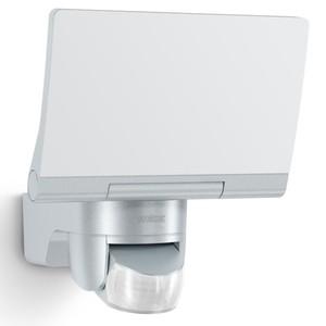 Steinel LED Strahler XLED Home 2 silber mit Bewegungsmelder
