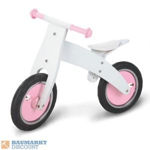 Pinolino Laufrad Pinky Birke weiß / rosa