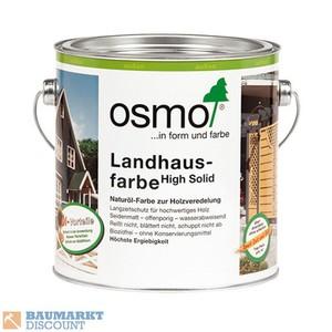 Osmo Landhausfarbe 750 ml Kieselgrau