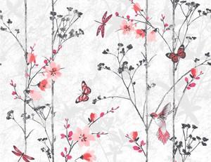 Papiertapete  Schmetterlinge