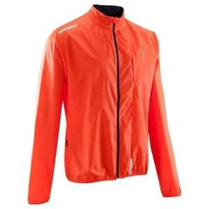 KALENJI Laufwindjacke Run Wind Herren orange, Größe: S