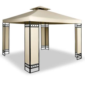 Deuba Pavillon Lorca 3x3m mit Dachhaube creme