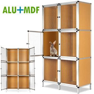 Deuba Hasenstall 6er MDF/Alu